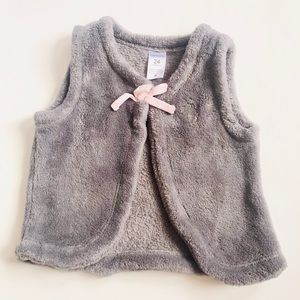 Carters Toddler Girls Faux Fur Vest